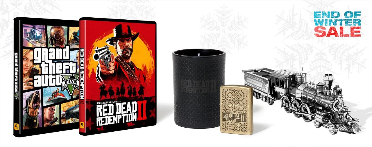 Soldes fin d'hiver Rockstar Warehouse