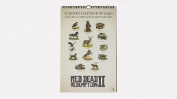 Calendrier Red Dead Redemption 2