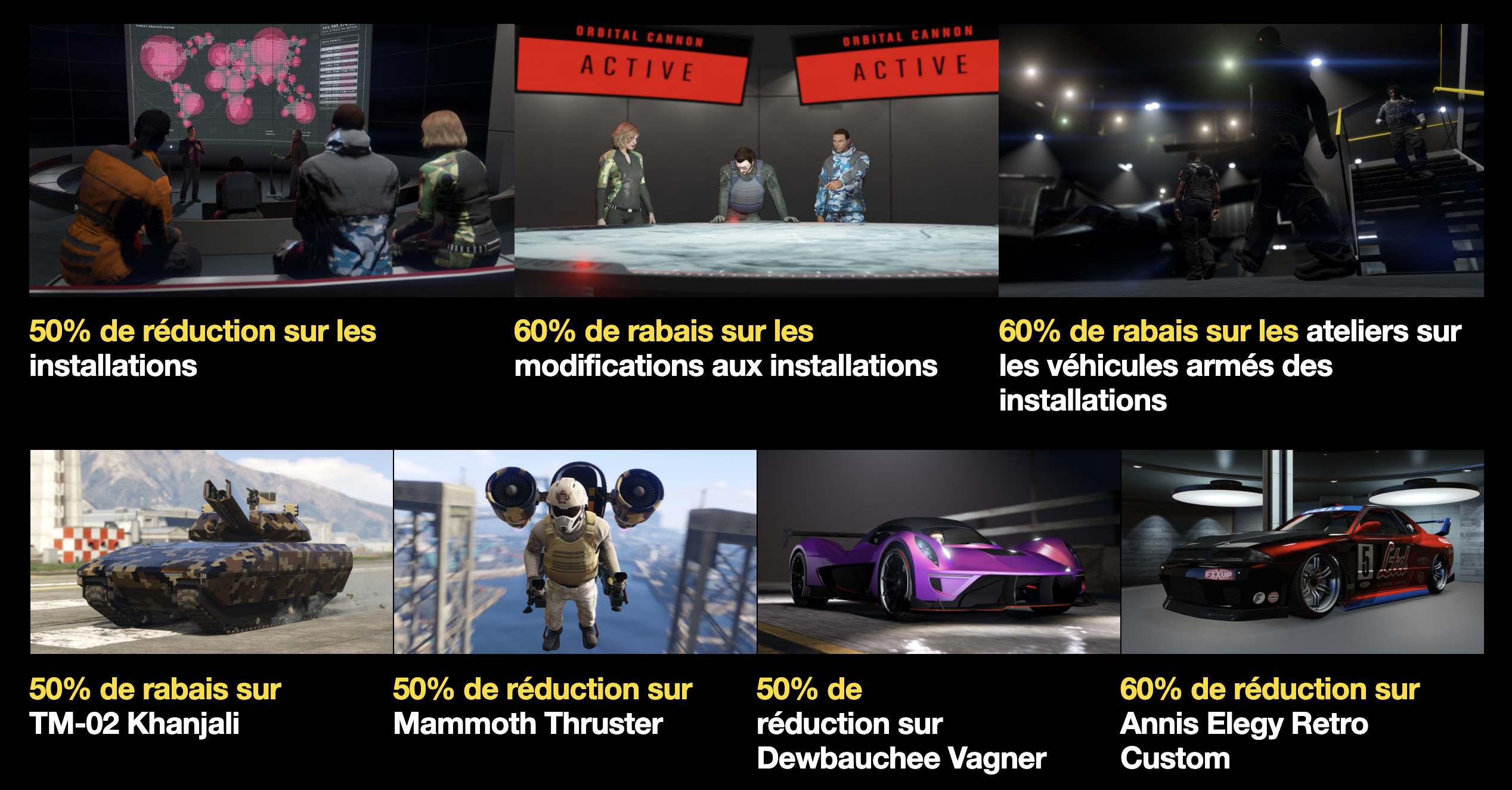 Promotions GTA Online 26 Mars 2020