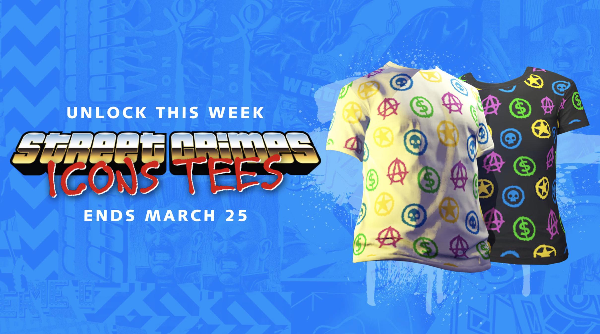 T-Shirt GTA Online 19 Mars 2020