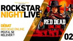 Red Dead Online Rockstar Night Live
