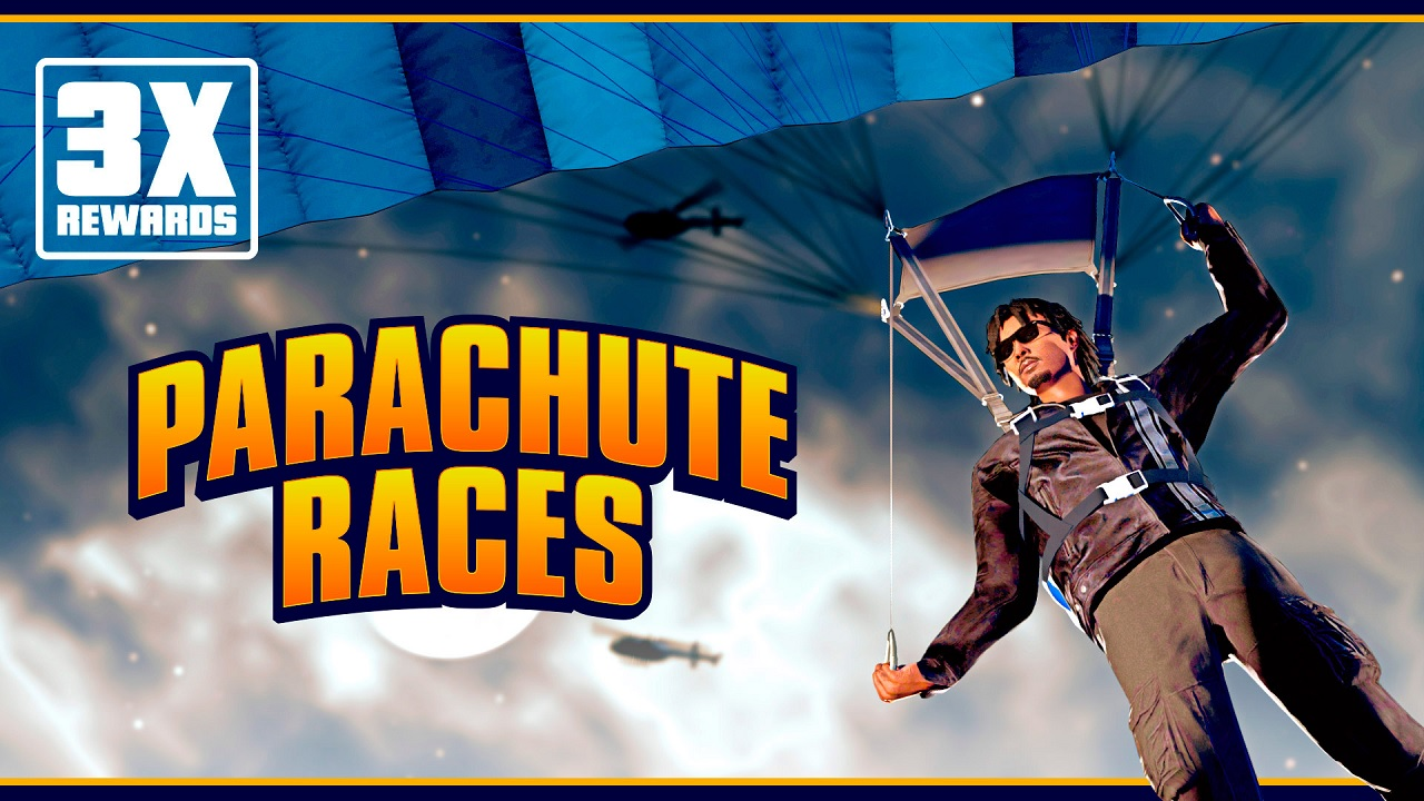 Courses de parachutes