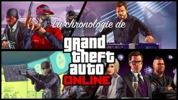 Chronologie de GTA Online