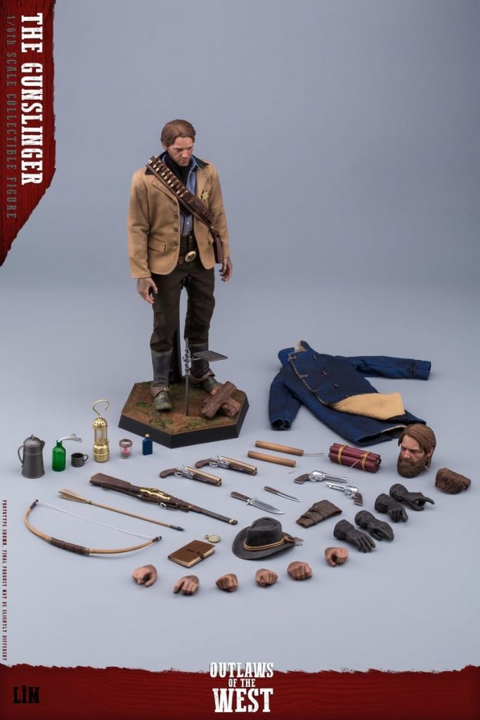 Figurine Gunslinger Red Dead Redemption II (7)