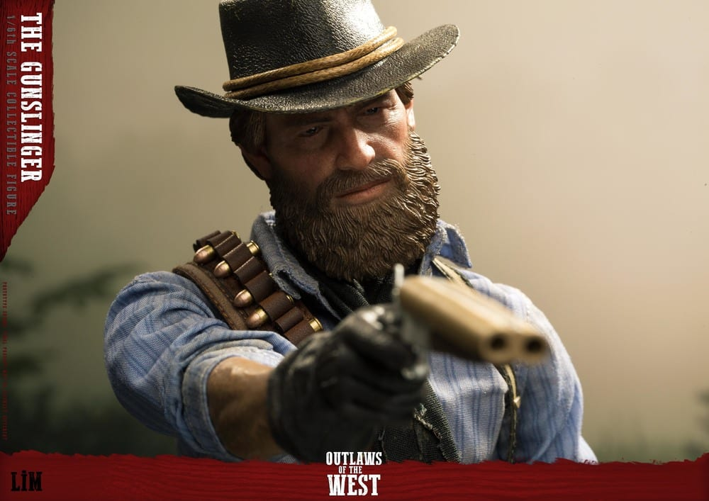 Figurine Gunslinger Red Dead Redemption II (2)