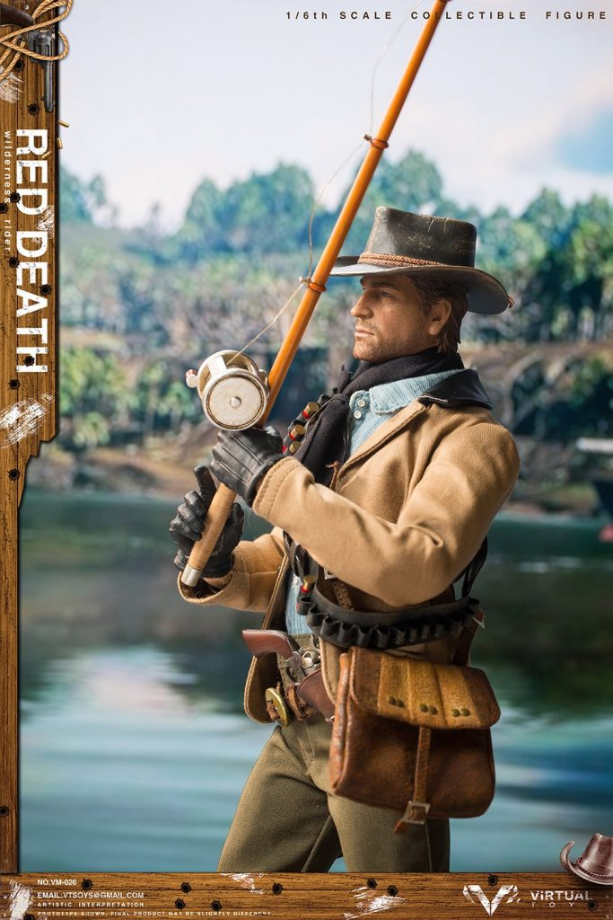 Figurine Wilderness Rider Red Dead Redemption II (7)