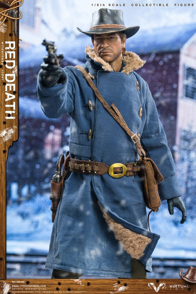 Figurine Wilderness Rider Red Dead Redemption II (5)