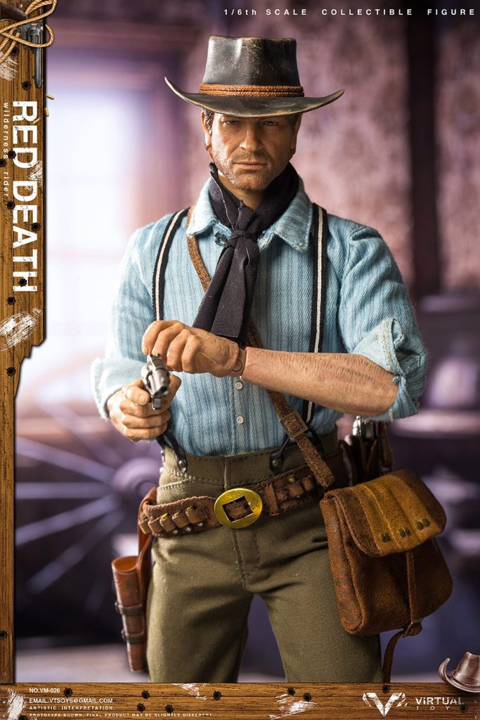 Figurine Wilderness Rider Red Dead Redemption II (3)