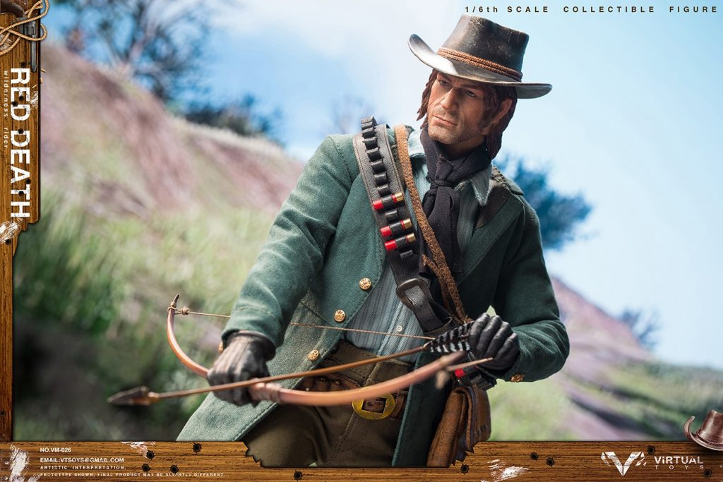 Figurine Wilderness Rider Red Dead Redemption II (2)