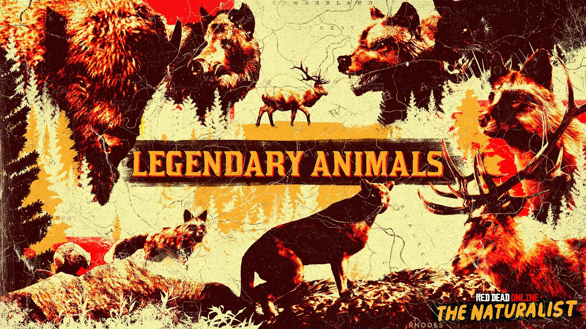 animaux légendaires naturaliste