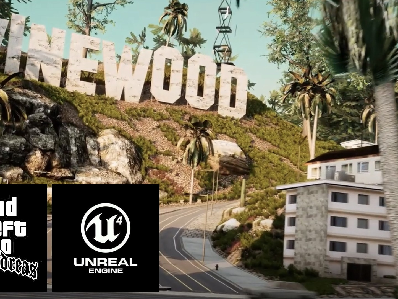 GTA San Andreas Unreal Engine 4