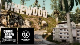 GTA San Andreas Unreal Engine 4