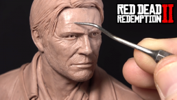 Un fan art d'Arthur Morgan de Red Dead Redeption II en vidéo