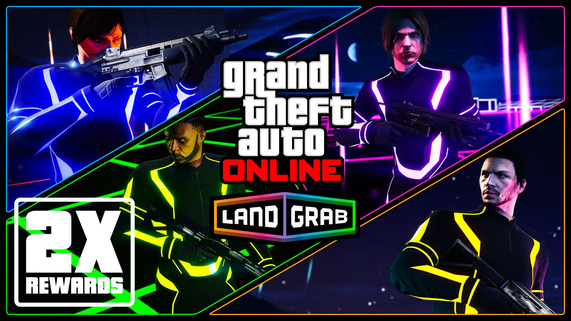 GTA Online Land Grab