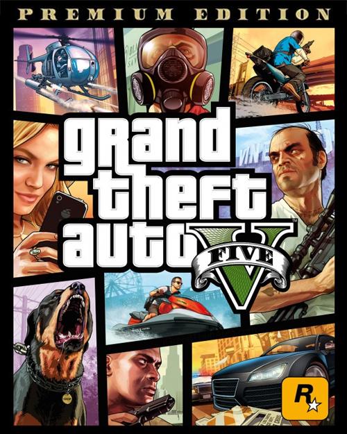Jaquette GTA V Premium Edition