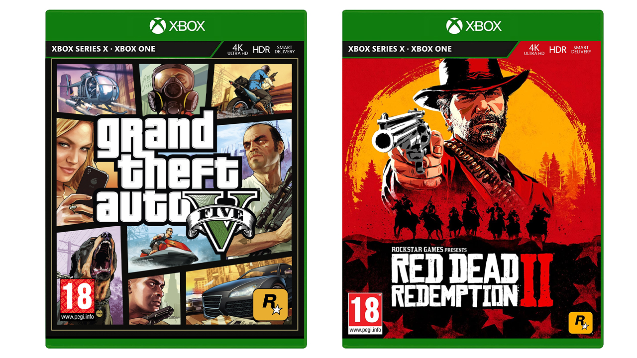 Jeux Rockstar Xbox Series X