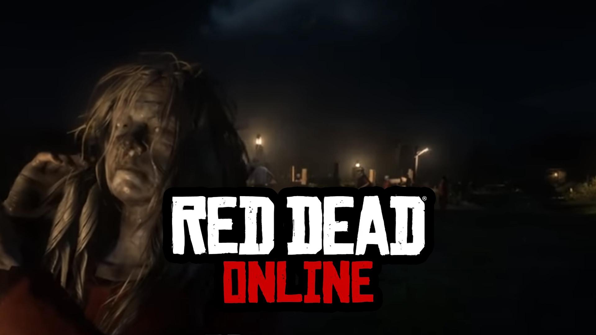 Premiers Zombies Red Dead Online
