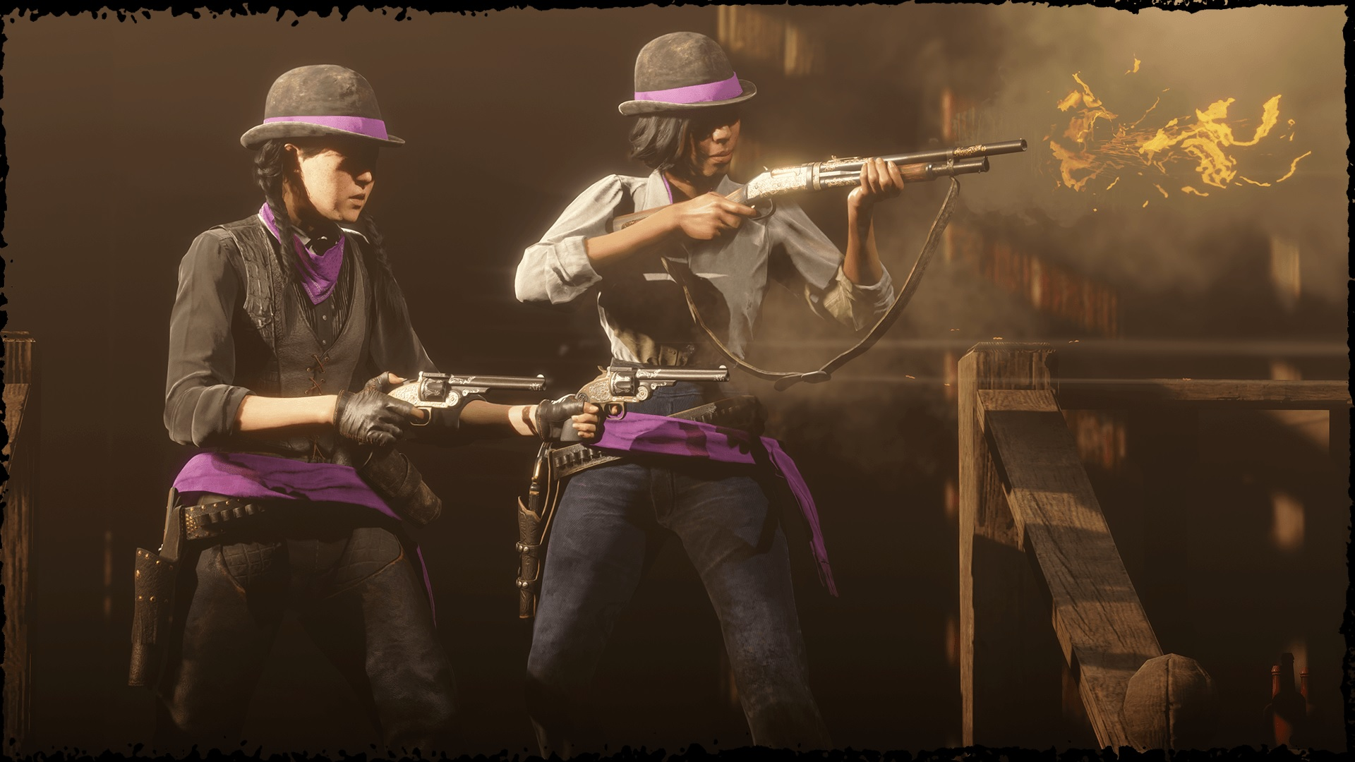 serie fusillades hardcore Red Dead Online