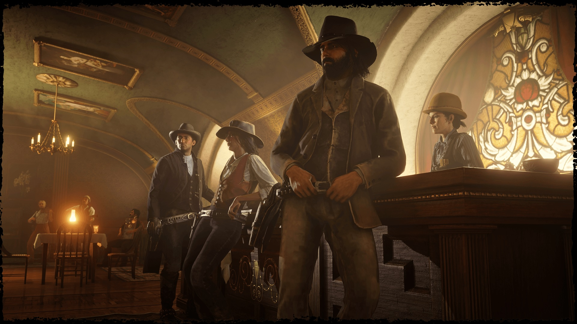 theme de bar Red Dead Online