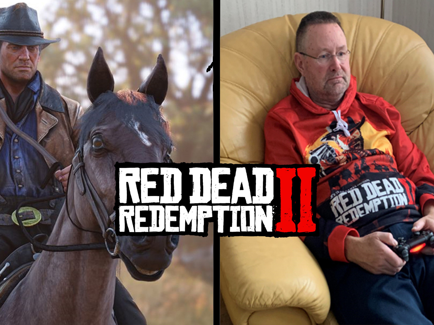 A 65 ans il termine Red Dead Redemption II 30 fois