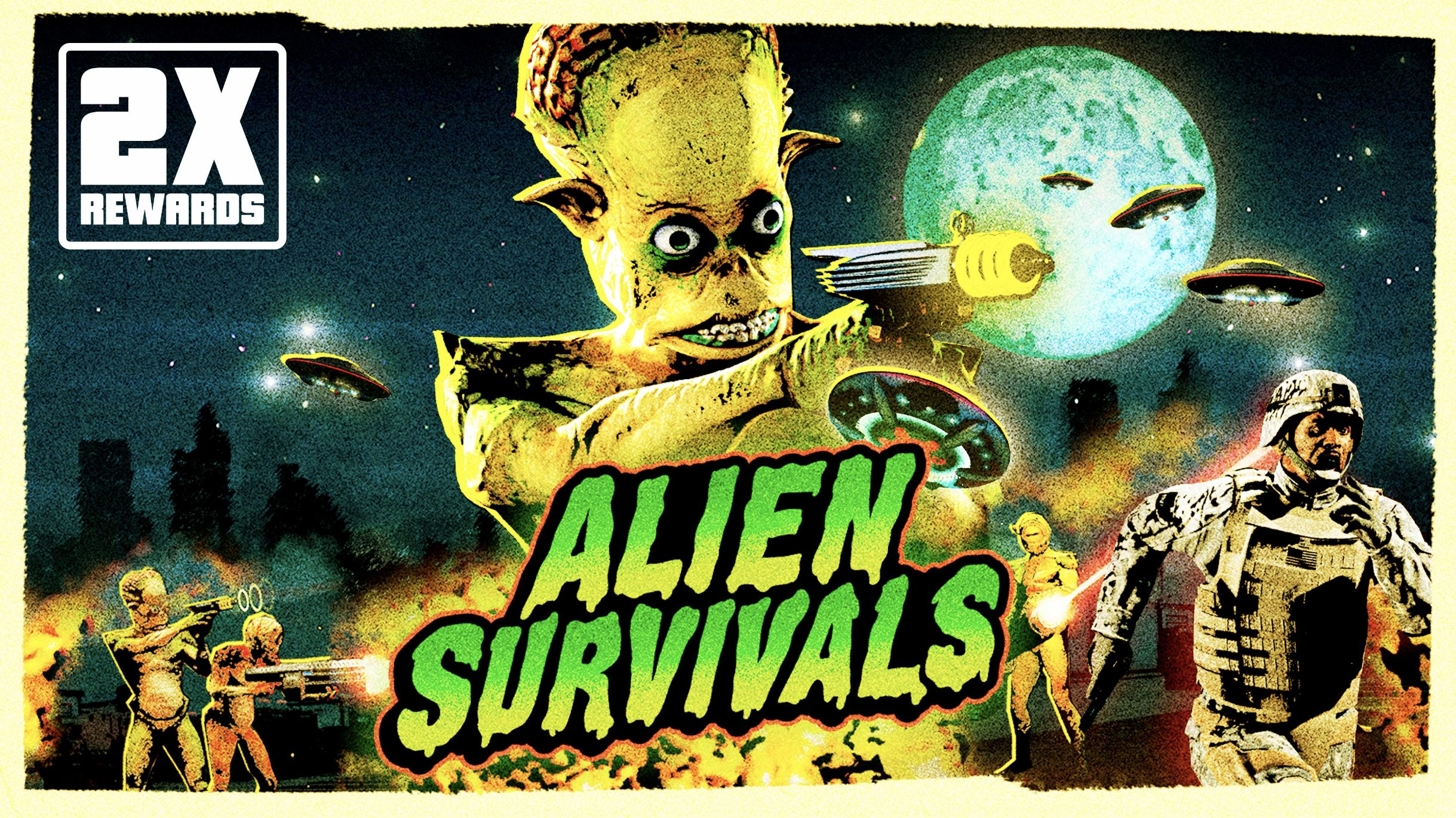 Survie Alien GTA Online Halloween