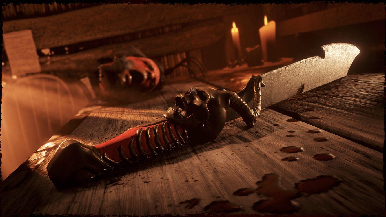 Red Dead Online Machette Squelettique de Zavala