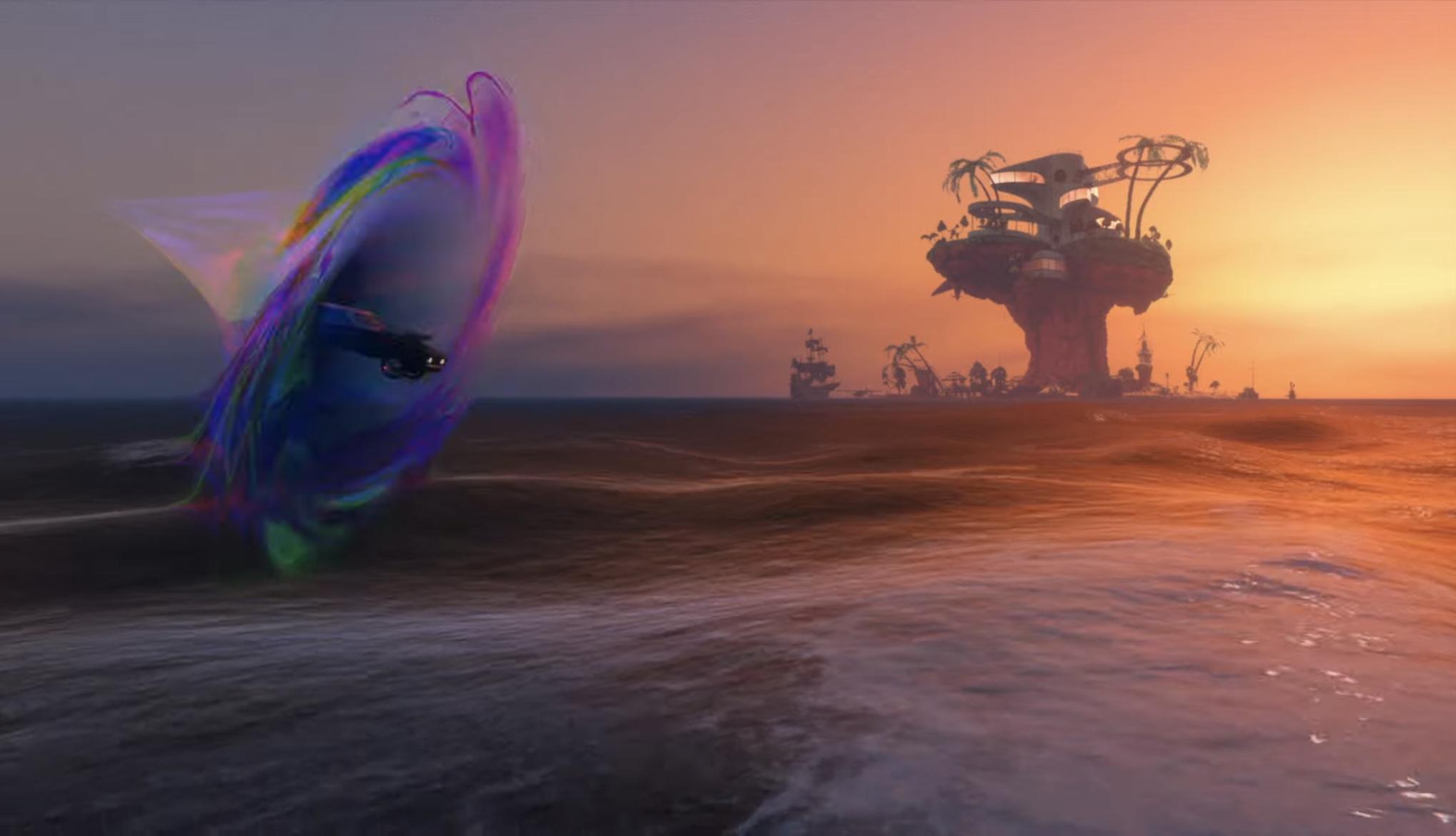 Île GTA V / GTA Online Clip Gorillaz