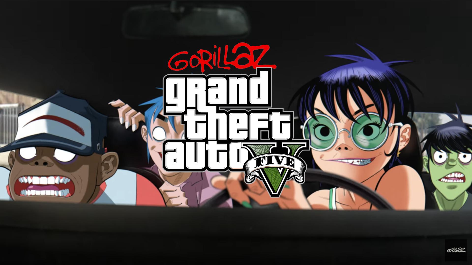 Gorillaz Clip GTA V