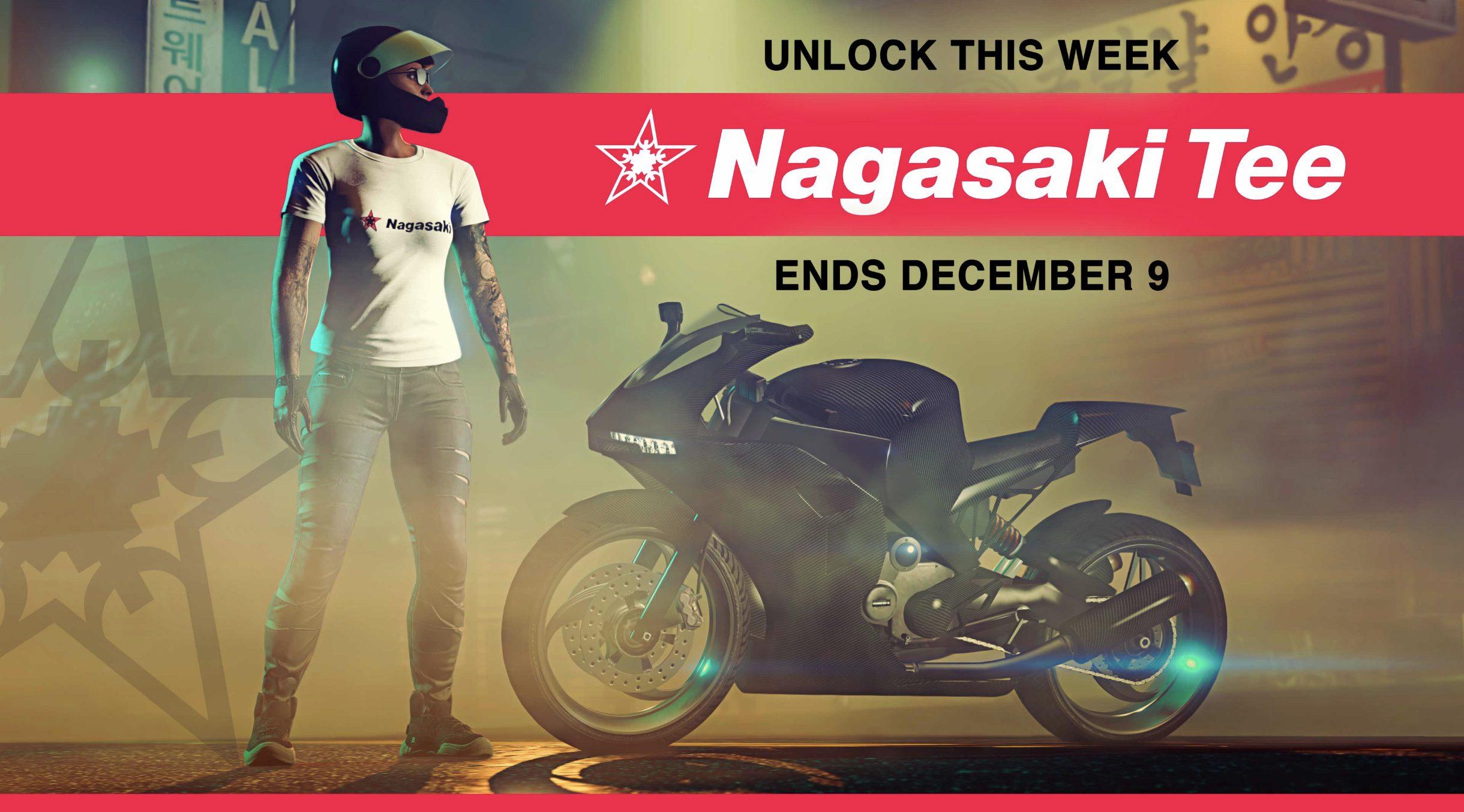 T-Shirt Nagasaki Offert GTA Online