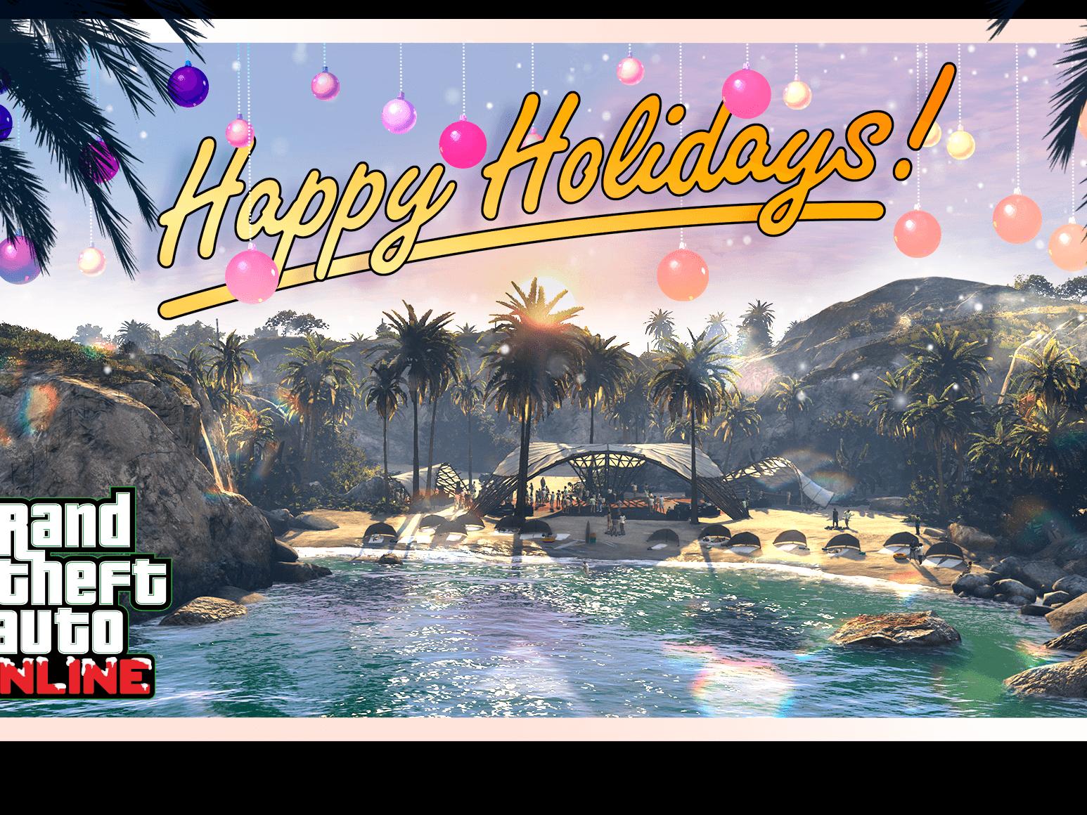 Happy Holidays GTA Online