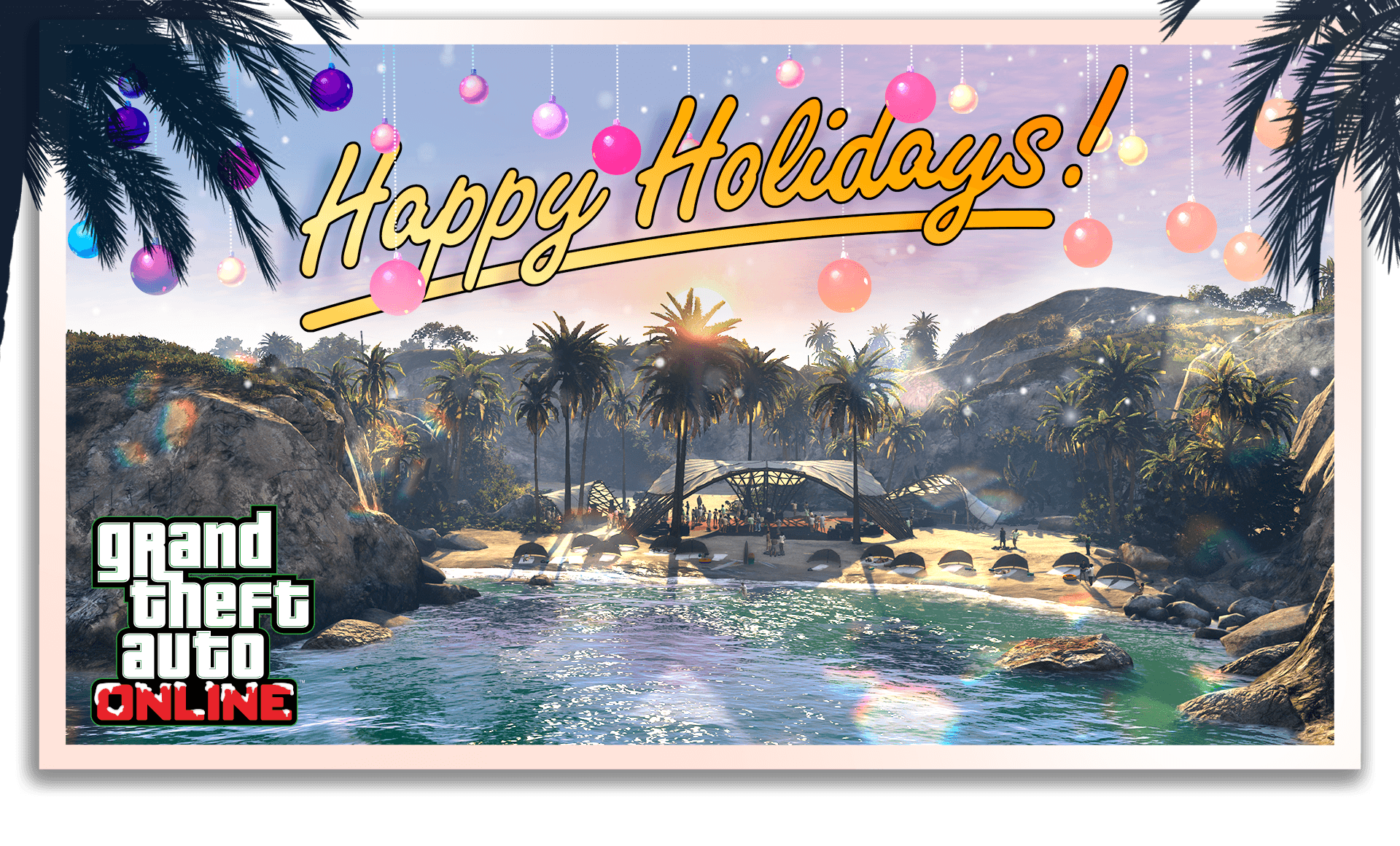 Happy Holidays GTA Online