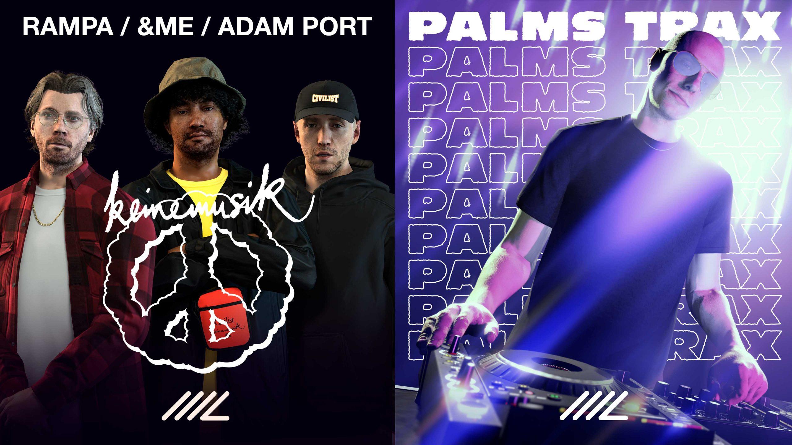Keinemusik et Palms Trax deviennent DJ au Music Locker de GTA Online