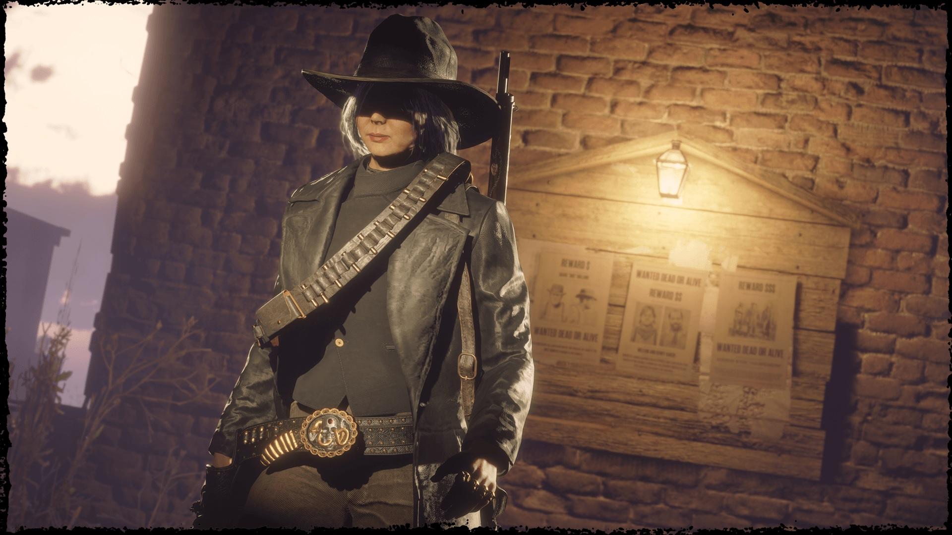 chasseur de primes prestigieux Red Dead Online