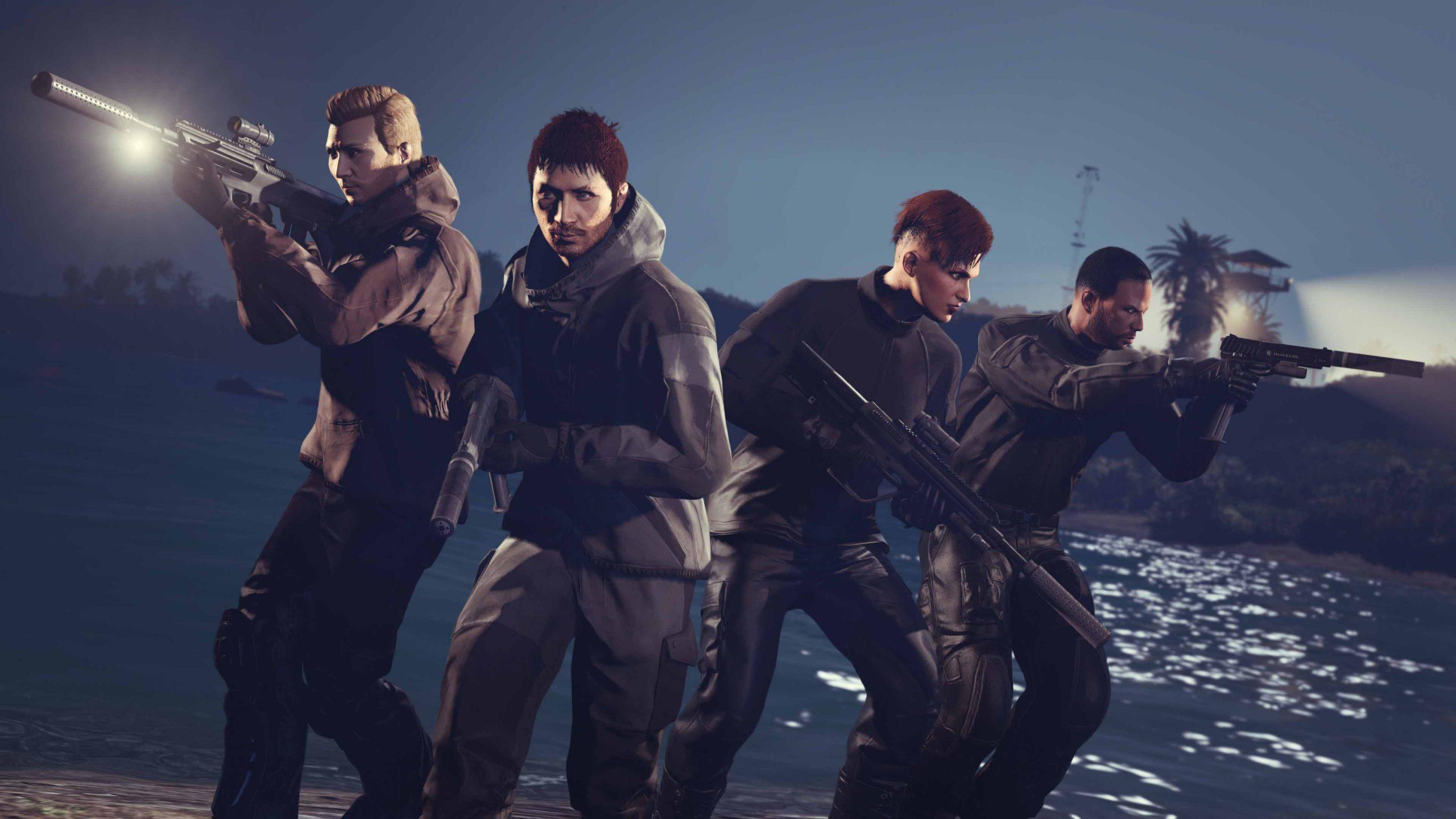 GTA Online Cayo Perico Coop