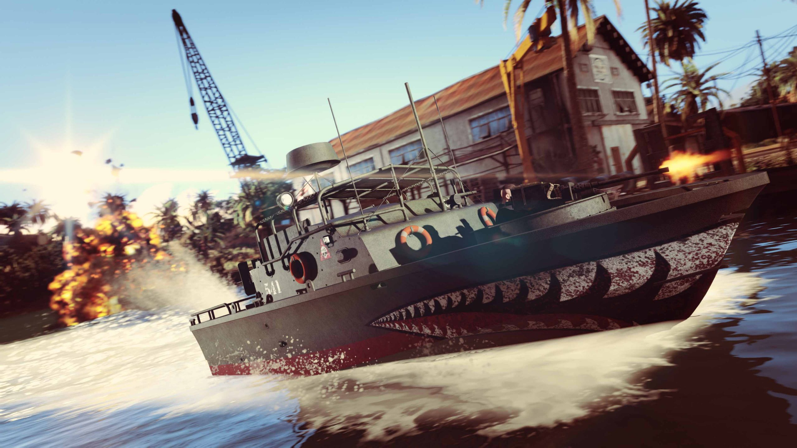 GTA Online Kurtz 31 Patrol Boat