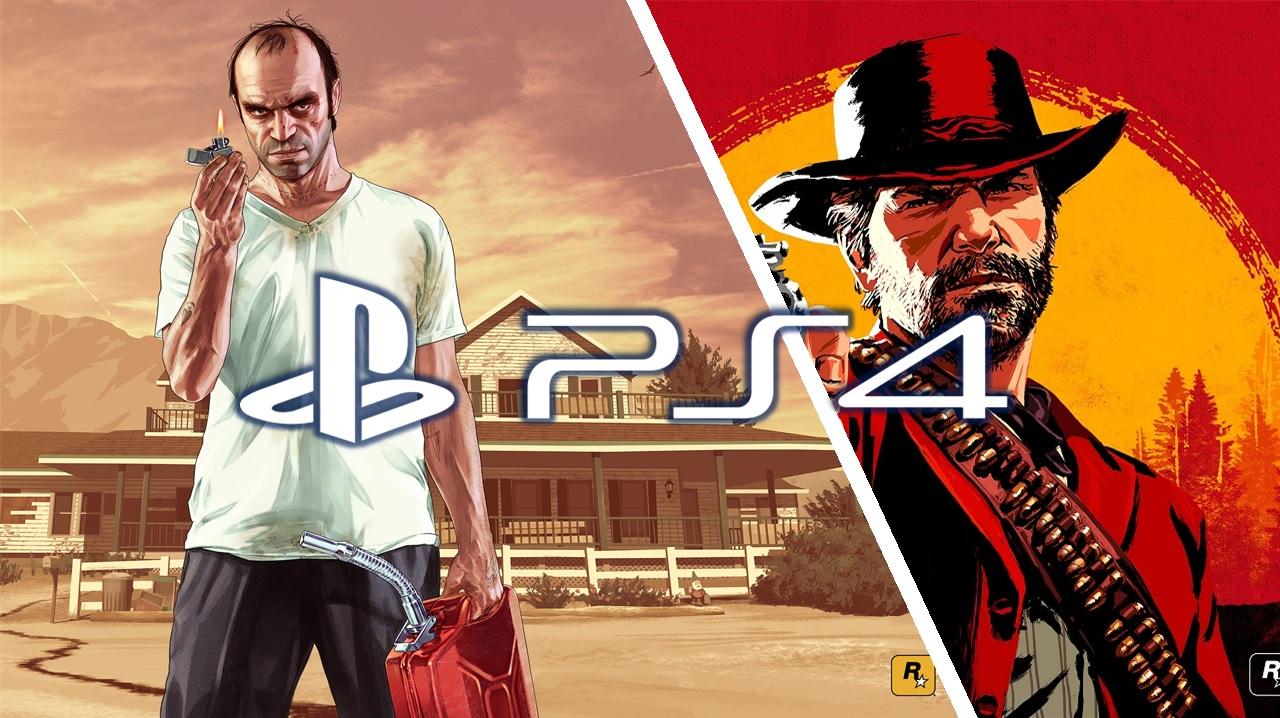 ban_GTAV Red Dead PS4