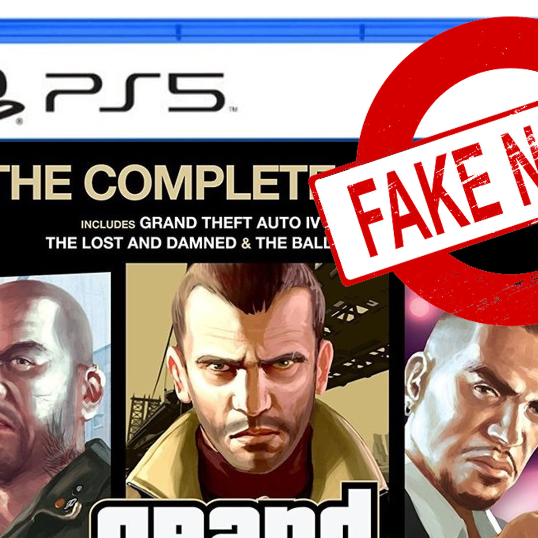 Fake GTA 4 PS5