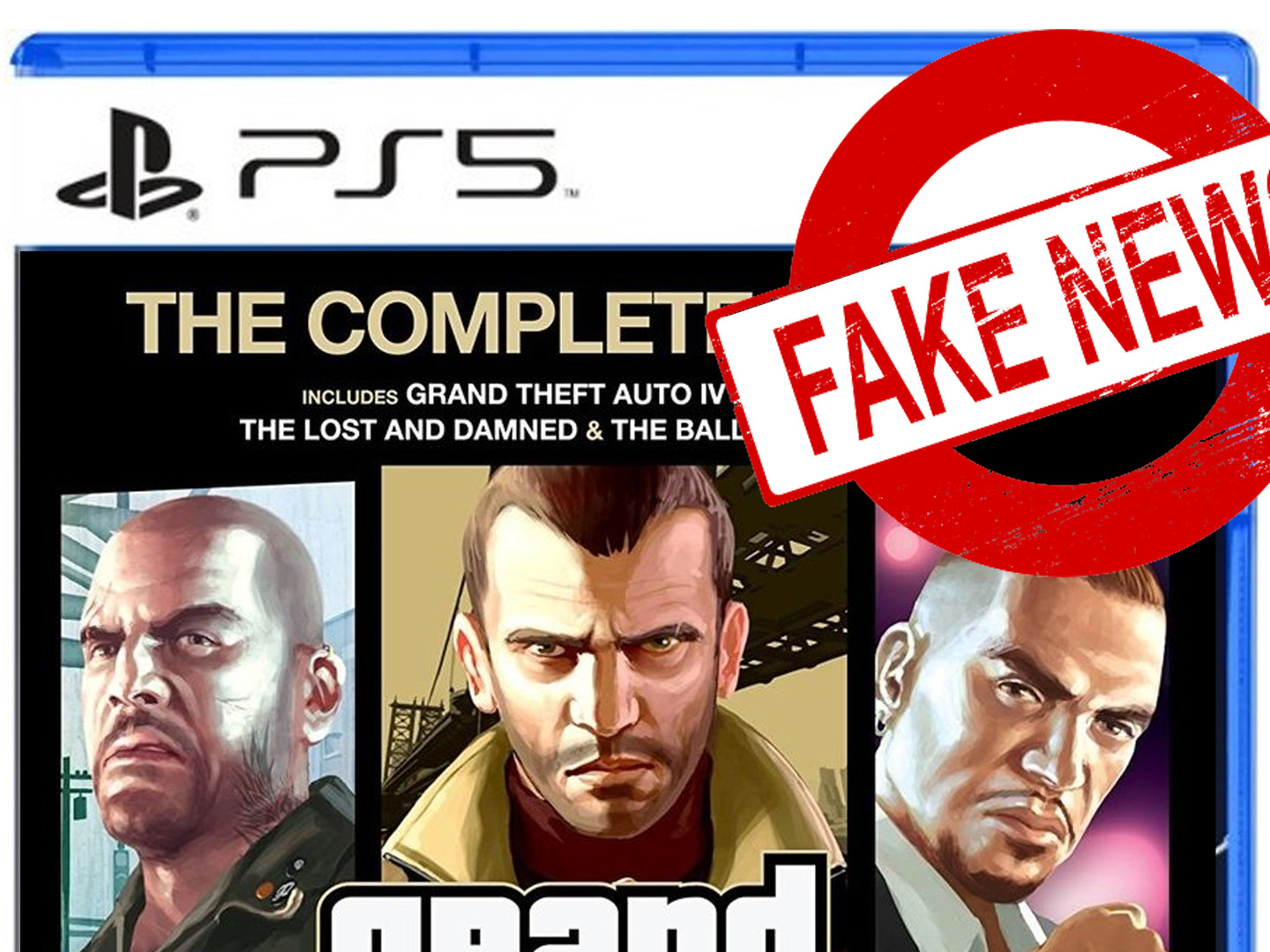 Fake GTA 4 PS5