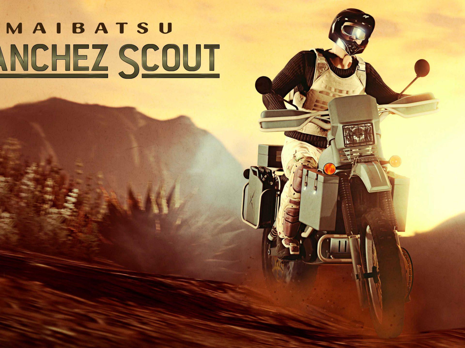 La Maibatsu Manchez Scout est disponible sur GTAOnline