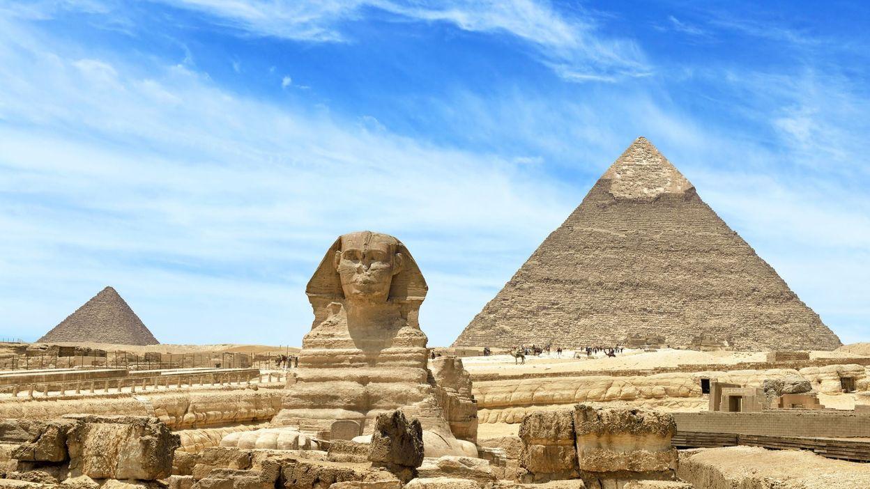 Le Caire Pyramide de Gizeh
