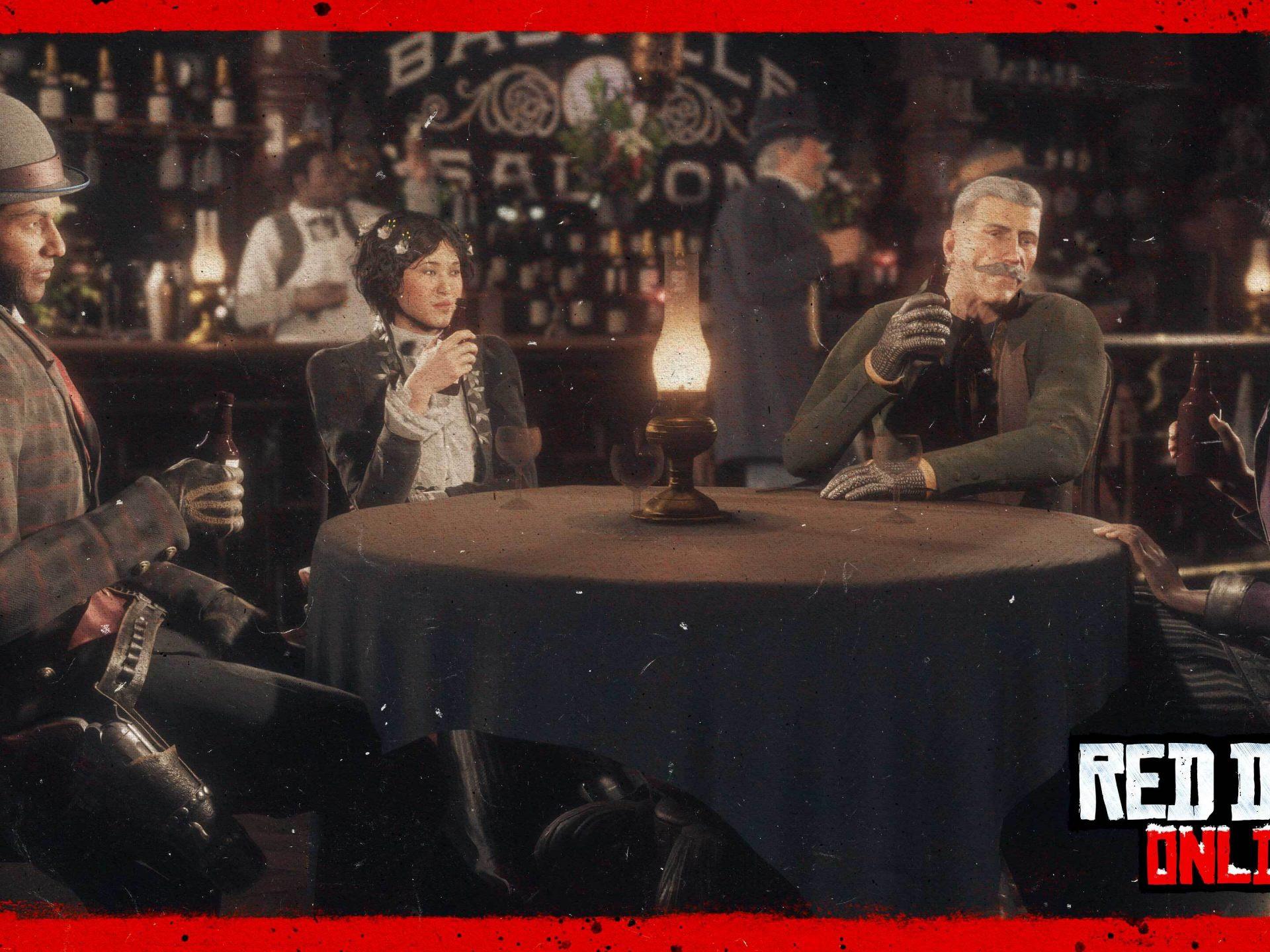 Nouvel An Red Dead Online