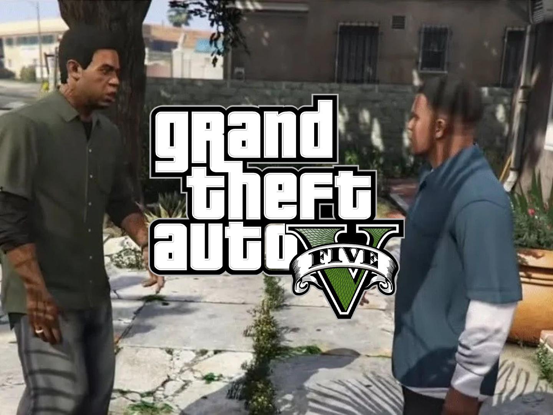 Scene IRL Franklin et Lamar GTA V