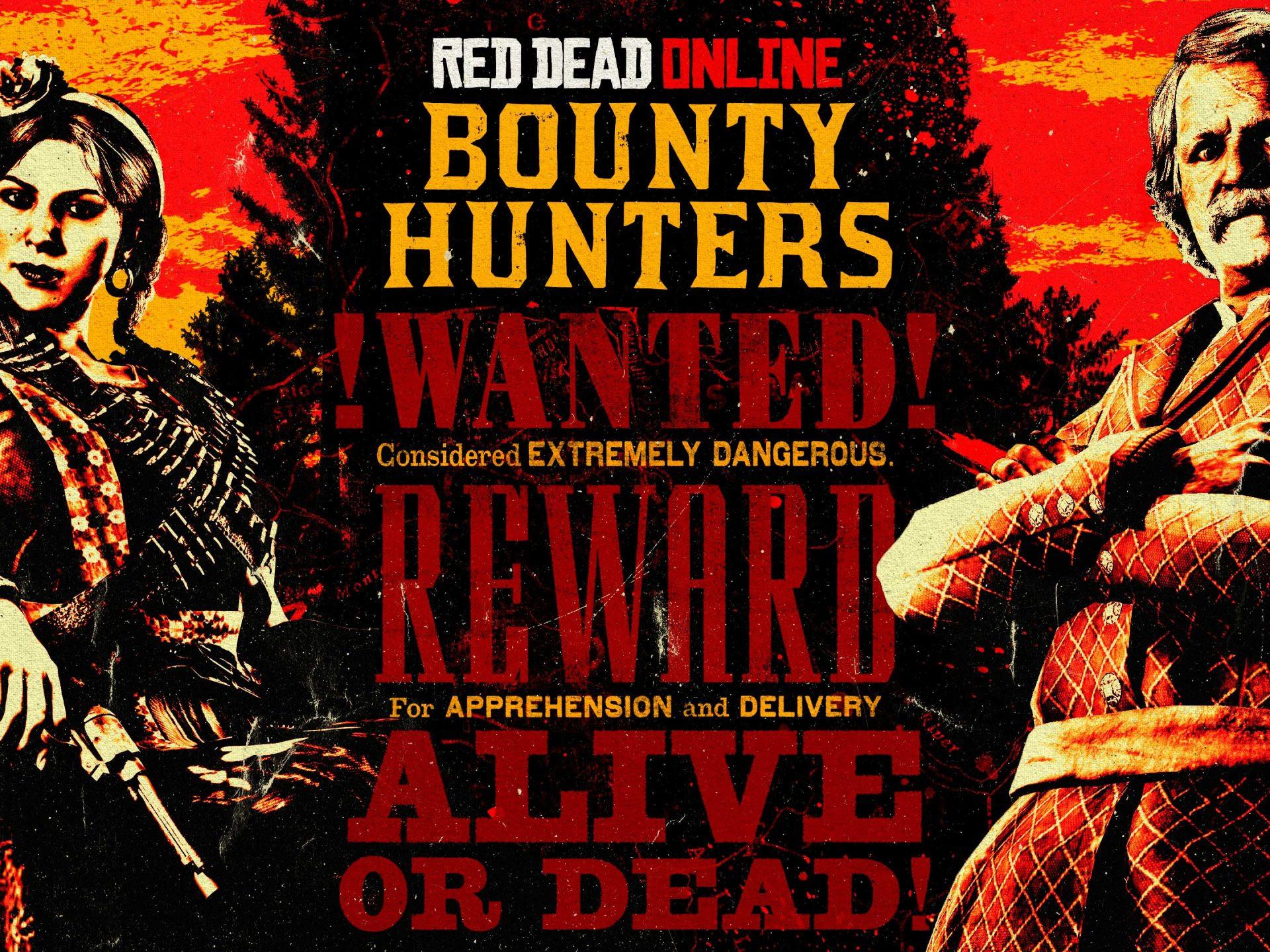 Semaine spéciale Red Dead Online Chasseurs de Primes