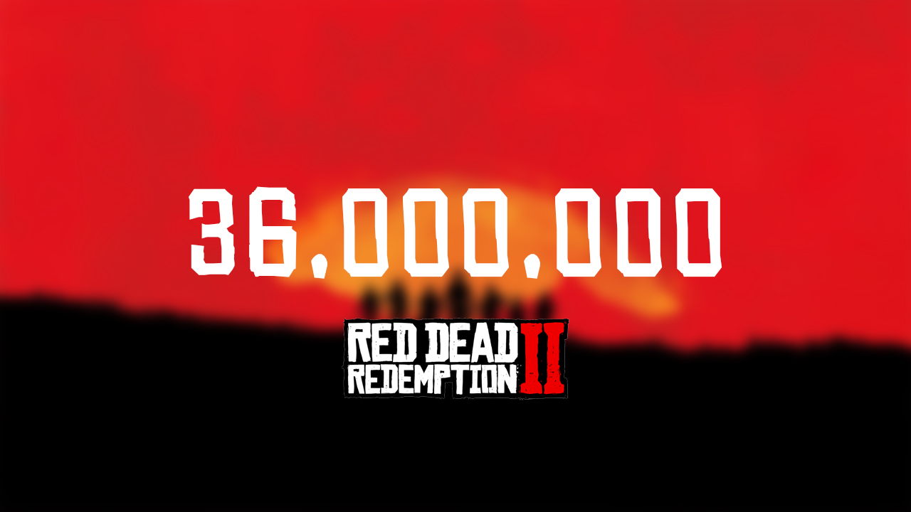 Ventes Red Dead Redemption II Fin 2020
