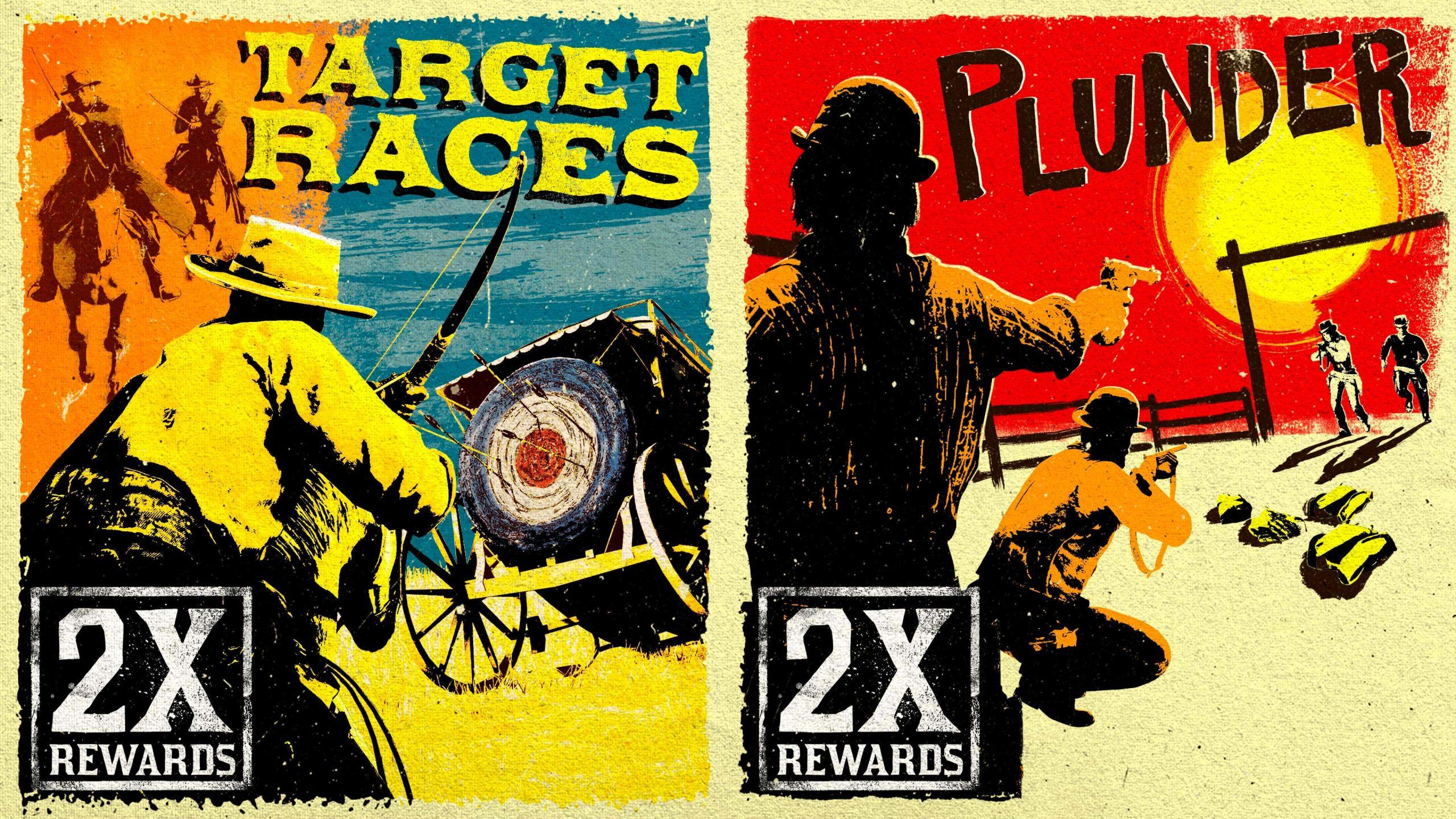 Pillage & courses de cibles bonus