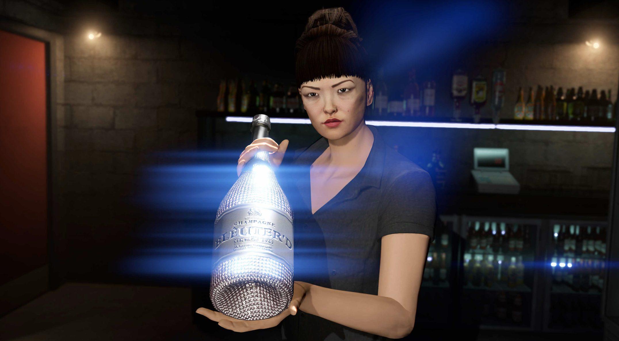 GTA Online Champagne gratuit