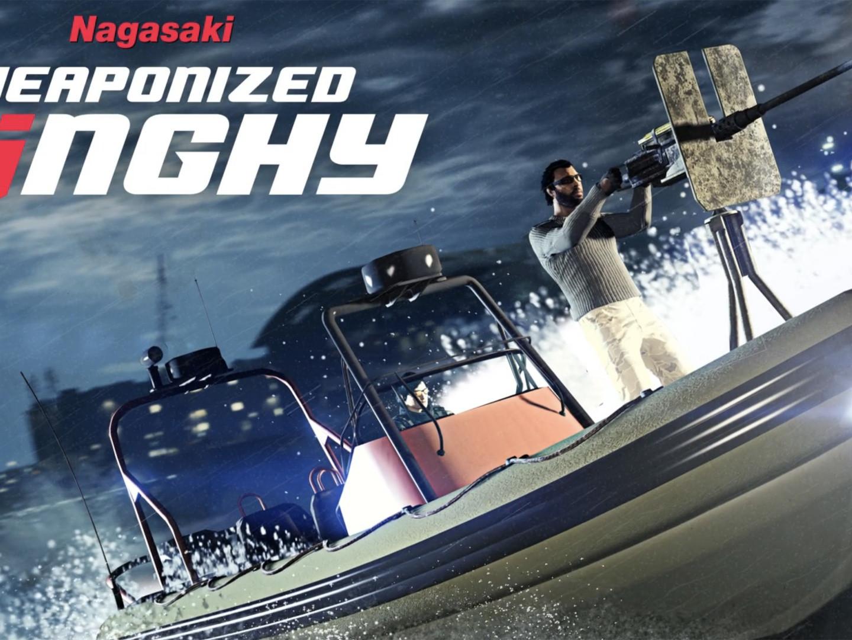 GTA Online Semaine Spéciale Nagasaki Dinghy