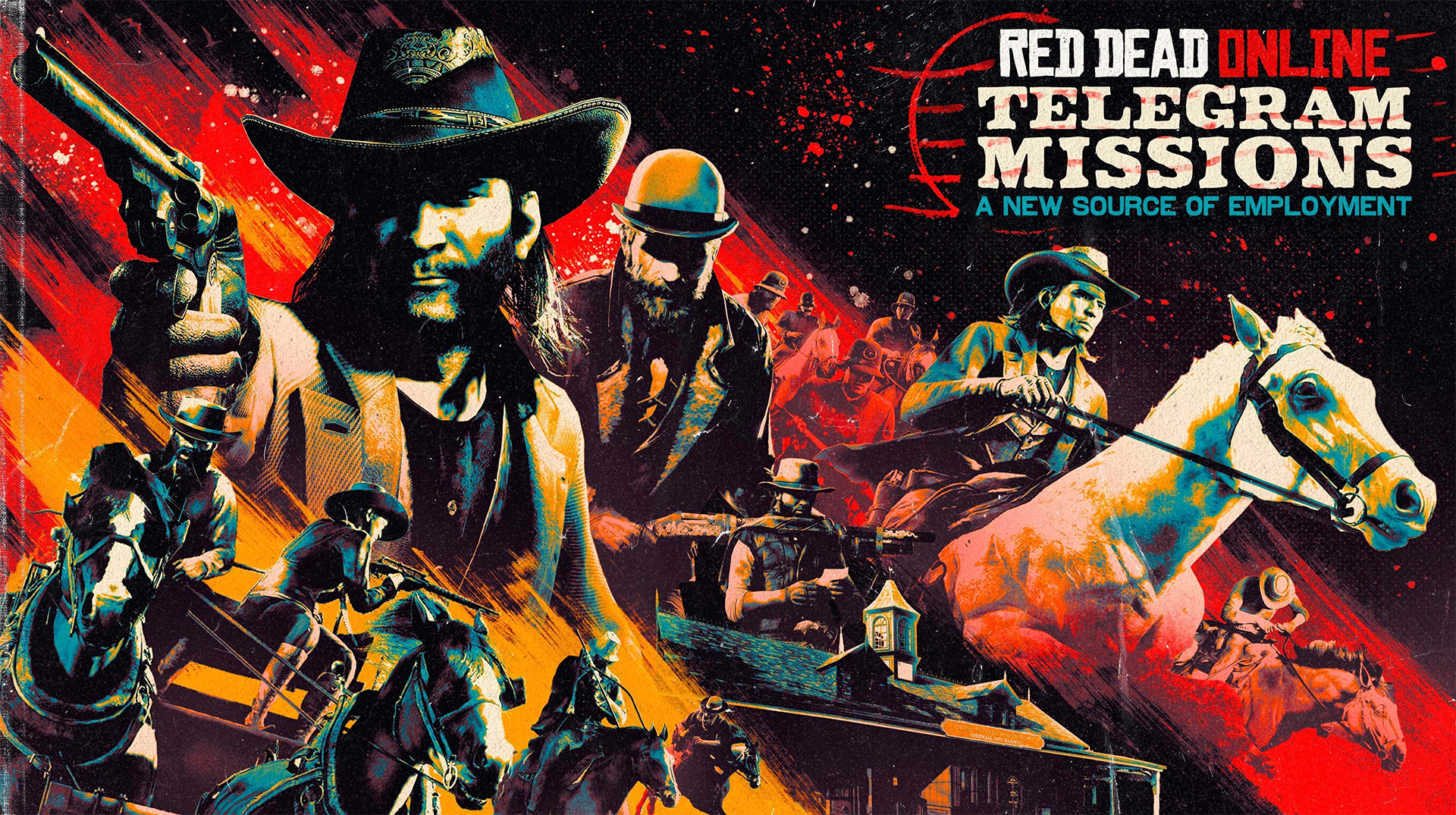 Red Dead Online Missions Télégrammes
