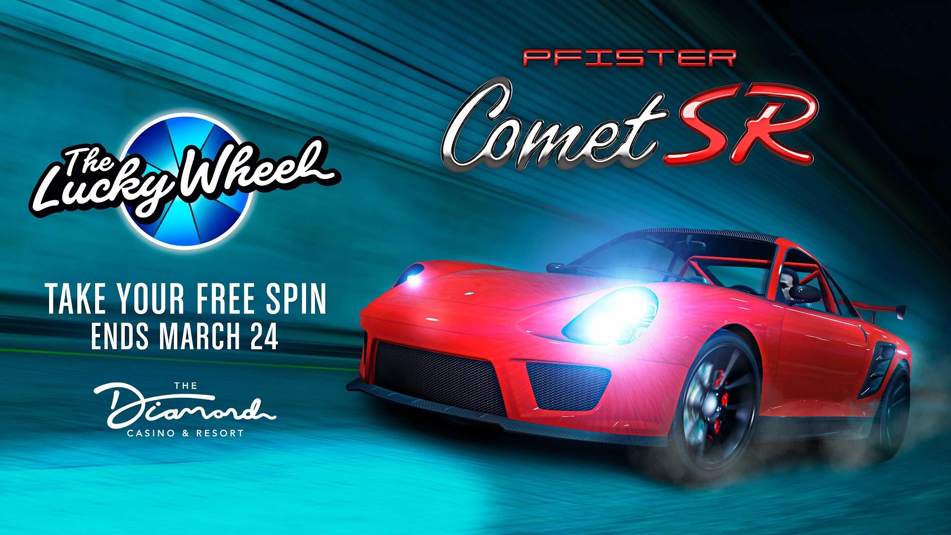 Comet SR Diamond Casino