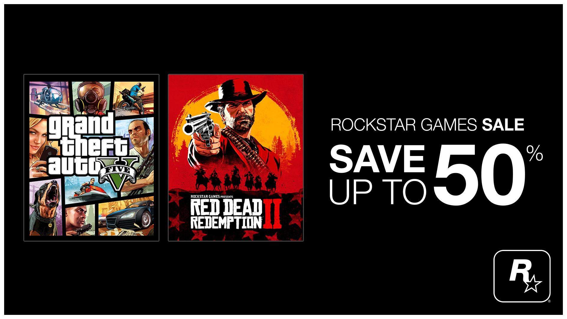 Promotions Jeux Rockstar Epic Games Store